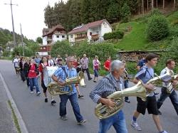 Marschmusikprobe 2013