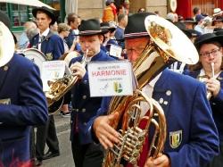 Harmonie bei der Basel Tatoo Parade 2017_14