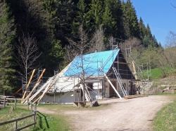 Mühle Dachreparatur 2017_1