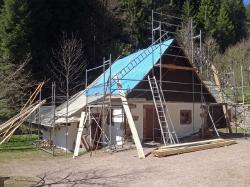 Mühle Dachreparatur 2017_2