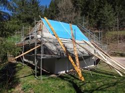 Mühle Dachreparatur 2017_4